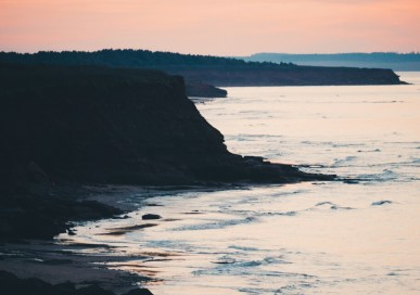 A Sunset Drive in Cavendish, Prince Edward Island
