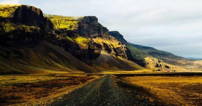 Navigating Iceland.