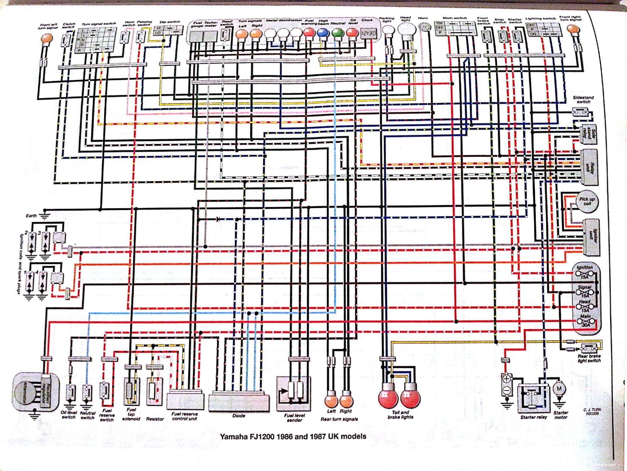 hight resolution of any good turnsignal mod mounting points yamaha fj1200 wiring diagram