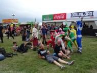 On voit vraiment de tout, en festival... C'est pas Woodstock, mais bon esprit