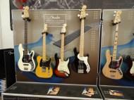 Le stand Fender, qui envoie du rêve...