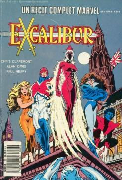 Avec Excalibur, par Alan Davis