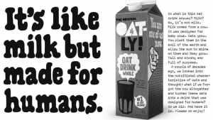 Jak mleko ale dla ludzi – ochrona sloganów na przykładzie sprawy Oatly