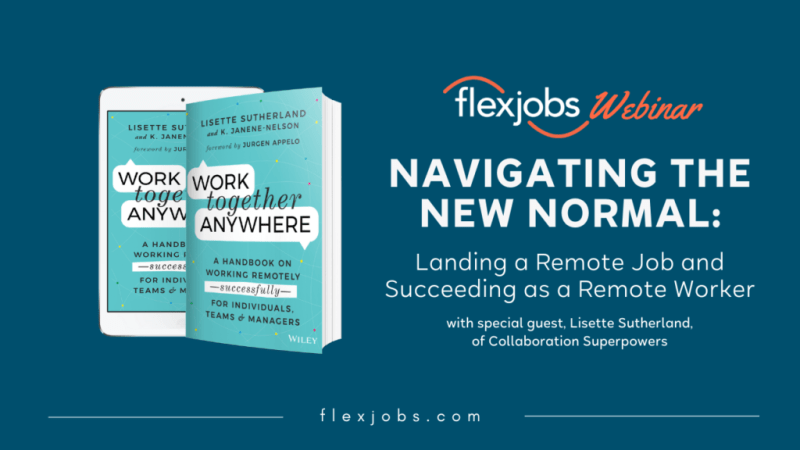 Navigating New Normal_land remote job