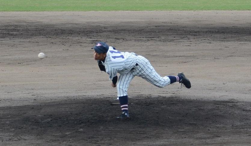 八幡・杉本投手