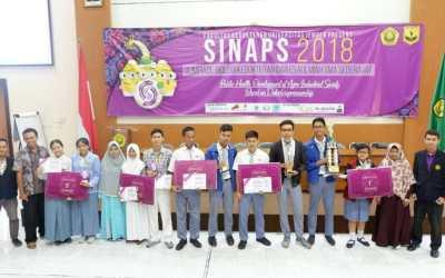 SMA 4 Denpasar Sapu Bersih Juara I II dan III Olimpiade SINAPS 2018