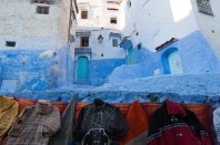 Triple-coloured Chefchaouen