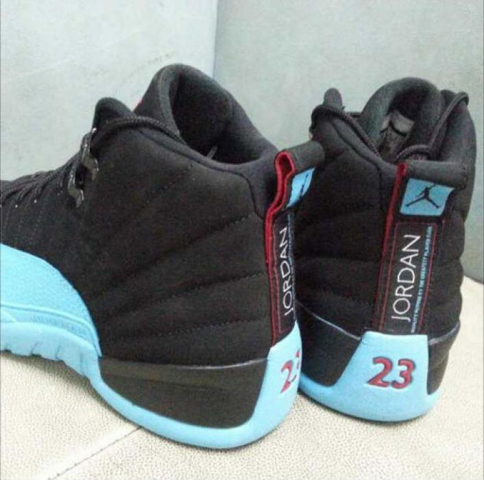 best sneakers 83dfa e0809 Air-Jordan-12-Gamma-Blue-3 ...