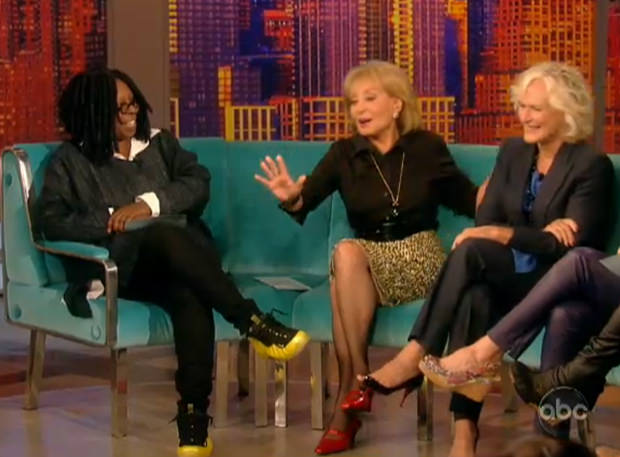b1eb970b640 Whoopi Goldberg isn t exactly who comes to mind when you think of  celebrities in sneakers