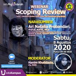 Registrasi Webinar Scoping Review
