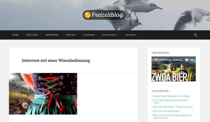 Blog München