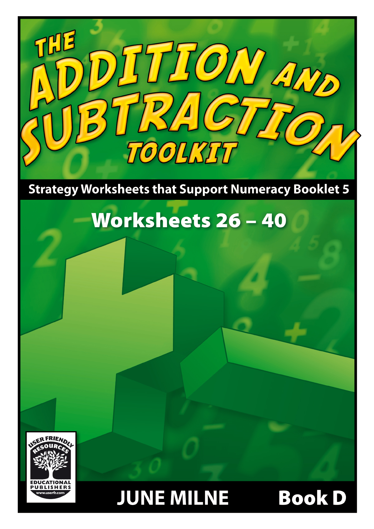 The Addition And Subtraction Toolkit