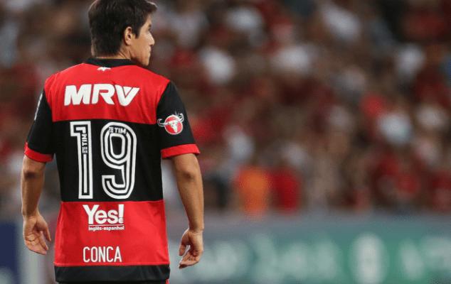 Conca faz último treino no Flamengo e dá adeus rumo à China: 'Vai voltar', confirma empresário