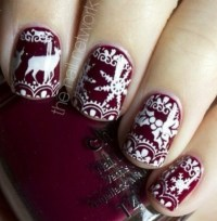 Hottest Nail Art for Winter 2013   So Flabyouloss!