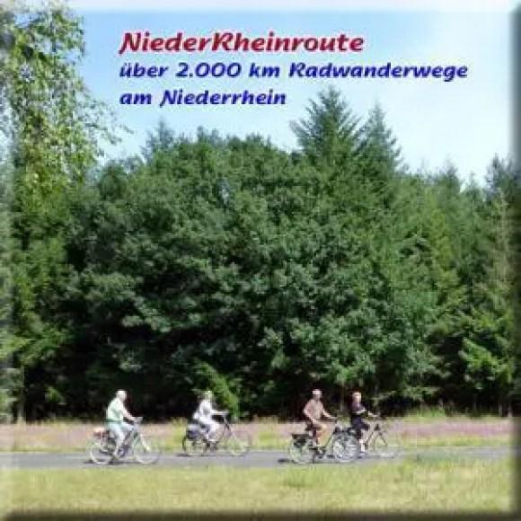 Ferien Freizeit am Niederrhein - Radeln und Radwandern am Niederrhein