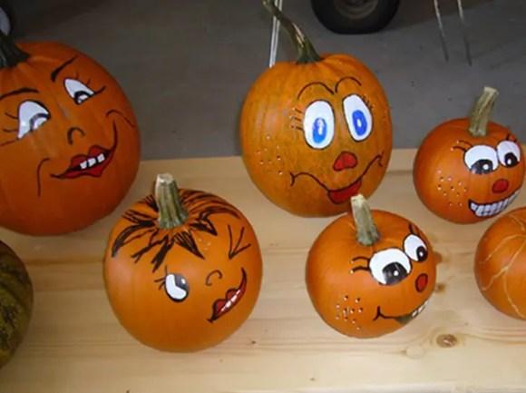 Halloween-Kuerbisse - Flachshof Nettetal
