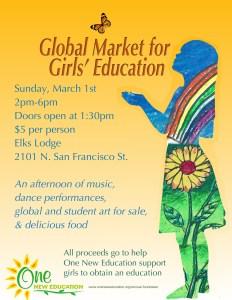 Global Market for Girls' Education @ Elks Lodge