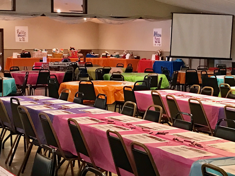 chair cover rentals findlay ohio metal leg floor protectors northridge banquet hall fundraiser facility rental