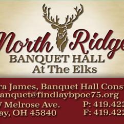 Chair Cover Rentals Findlay Ohio Japanese Massage Northridge Banquet Hall