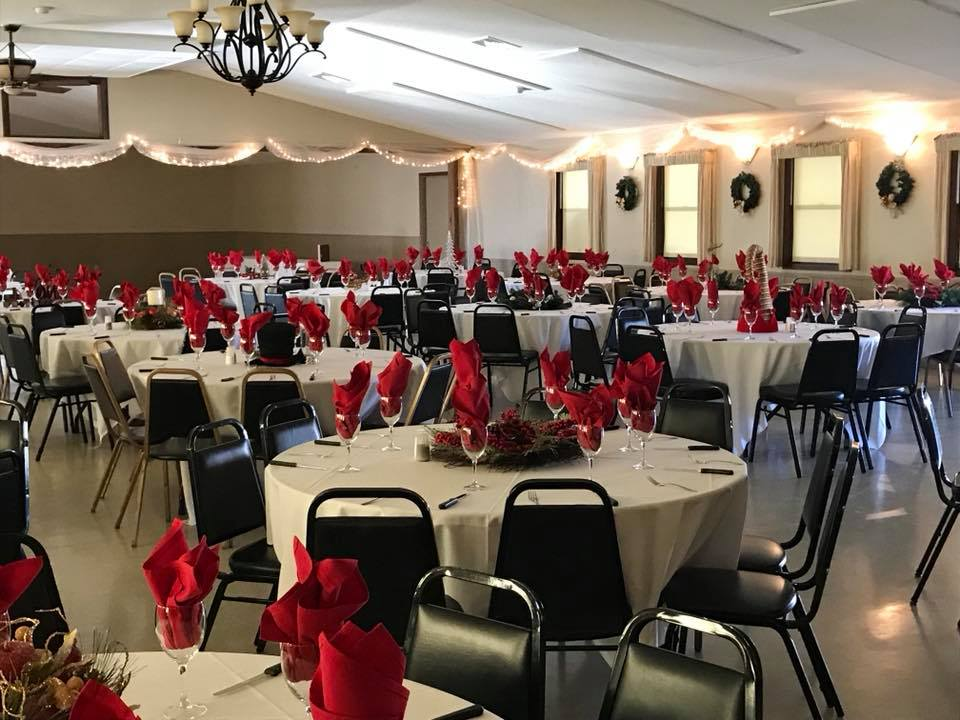 chair cover rentals findlay ohio folding nyc northridge banquet hall fundraiser facility rental bar wedding