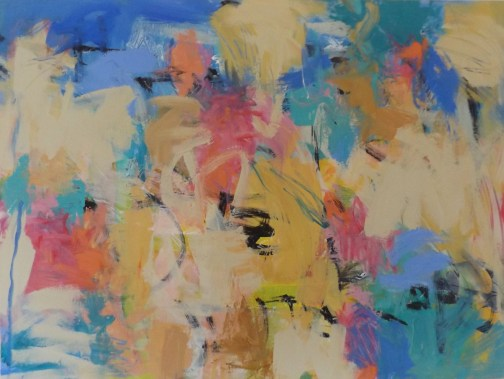 What Diana Gilson calls Ab-Ex, for abstract-expressionism. Click on the image for larger view. (© FlaglerLive)
