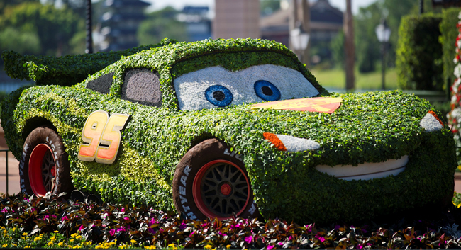 Disney's Flower and Garden Show: still on for a little while longer.