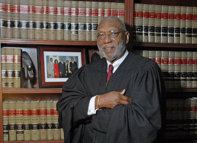 Justice James E.C. Perry has been on the Florida Supreme Court for 16 years.