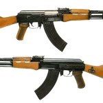The AK-47, the world's most popular assault weapon.