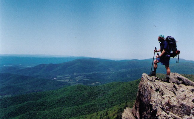 thru-hiker sheltowee appalachian trail