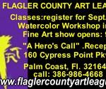 flagler county art league hero's call sept. 11 city walk 9/11 exhibit