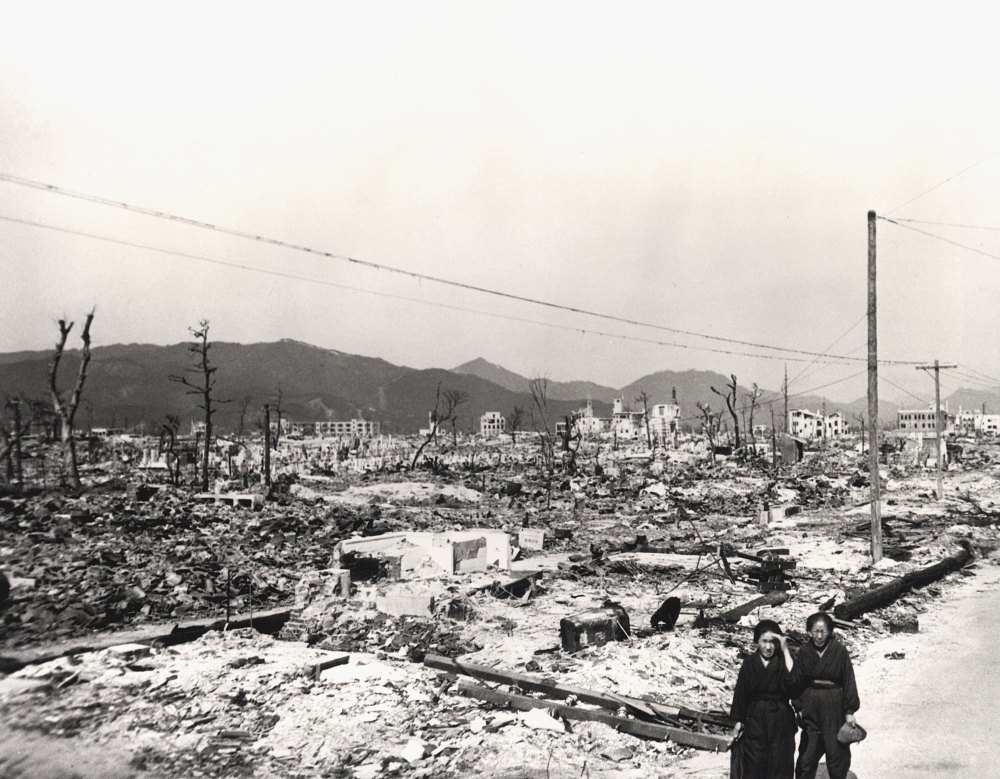 Hiroshima three months after the atomic bombing. (US Department of Energy)