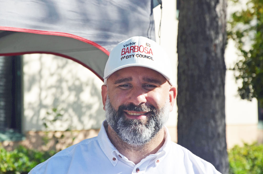 Victor Barbosa was elected to the Palm Coast City Council last year and is running for the County Commission in 2022. (© FlaglerLive)