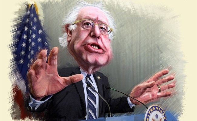 Bernie Sanders is in Miami tonight. (DonkeyHotey)