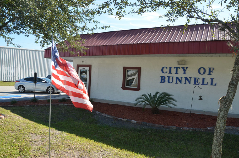 That didn't last: Bunnell is vacating its City Hall less than seven years after buying the property. (© FlaglerLive)
