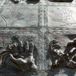 A detail from the Child Abuse Survivor Monument in Toronto. (Harvey K)