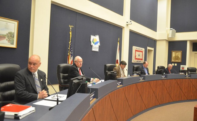 Flagler County commisioners are offering up their budget suggestions to the county administrator outside of public meetings. (© FlaglerLive)