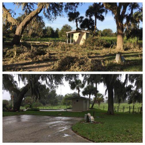 Palm Coast damage hurricane matthew
