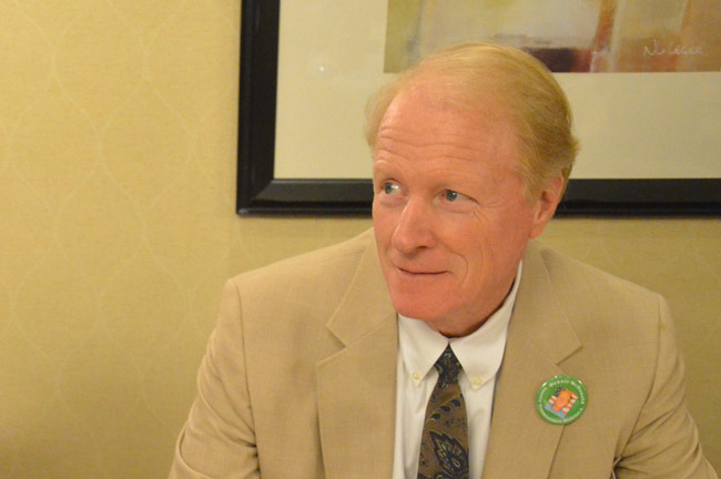 Dennis McDonald filed to run in his fifth electoral contest in six years. (© FlaglerLive)