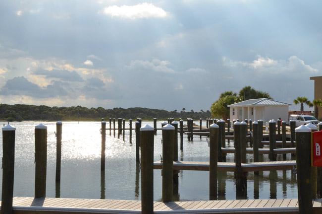 Marineland's Marina will get an extra 300 feet of floating docks. (© FlaglerLive)