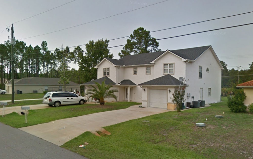 The duplex on Raintree. (Google)