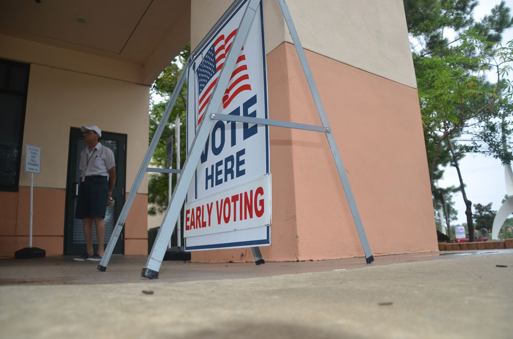 early voting.