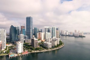 Much of Miami is built right up to the water's edge. On average, it's 6 feet above sea level. Ryan Parker/Unsplash, CC BY-ND