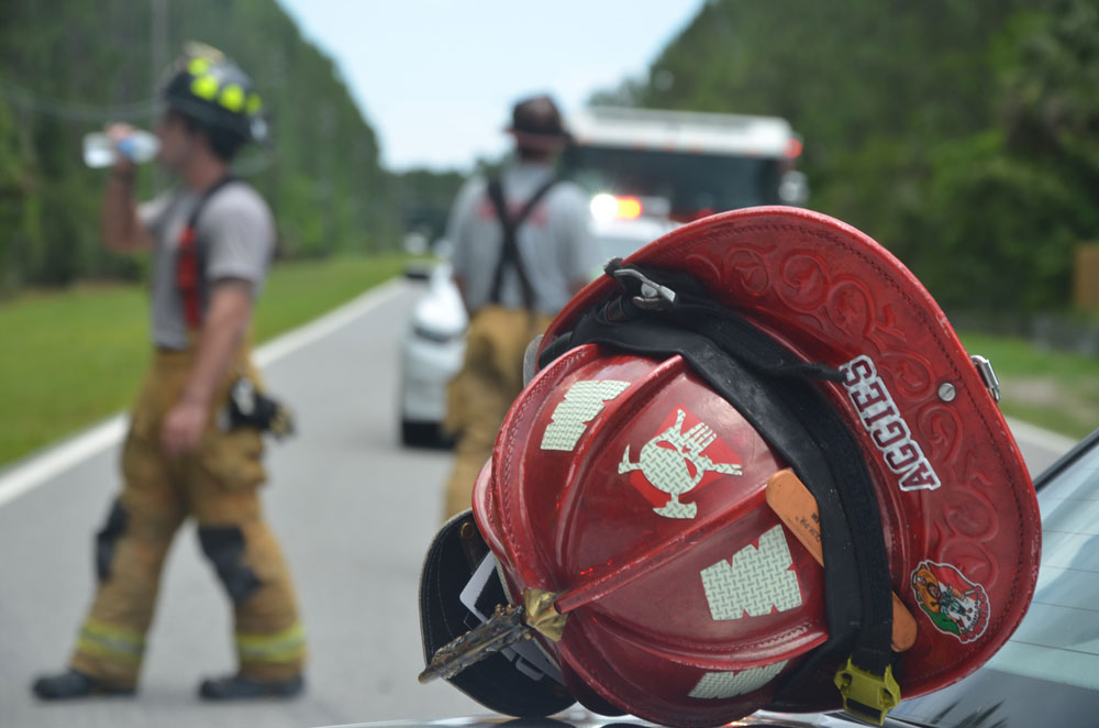 Today is National First Responders Day. Lakeside-by-the-Sea HOA (a part of the Villages at Matanzas Shores) is sponsoring a picnic lunch to honor and say Thank You to the First Responders that serve our community, from 11 a.m. to 3 p.m. at Flagler County Fire Rescue Station 41 in the Hammock. See below. (© FlaglerLive)