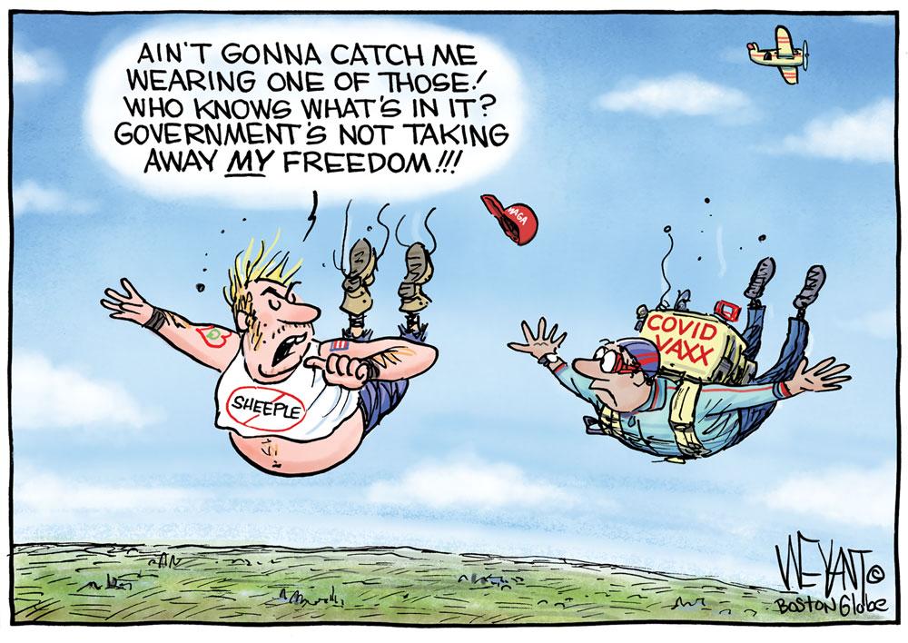 free falling vaccine