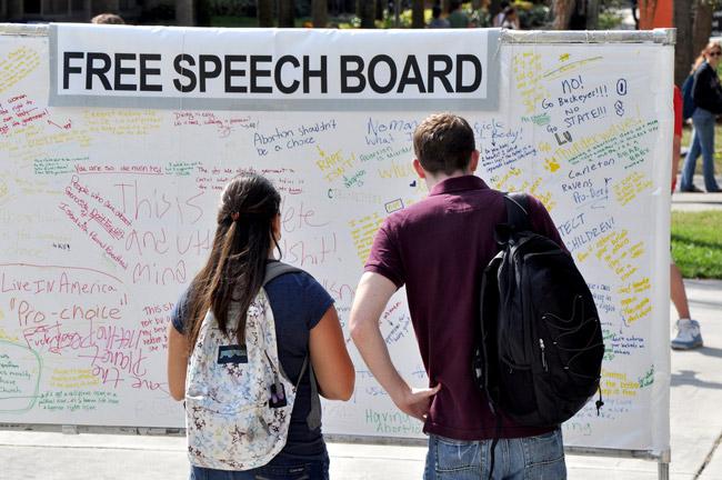 free speech board