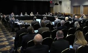 The committee meeting took place in the Grand Ballroom at UCF's Fairwinds Alumni Center.