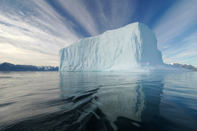 Today is Greenland National Day. Enjoy the ice while it lasts. The image above is taken of a fjord at the southeast side of Greenland. Today also coincides with the summer solstice, the longest day of the year. (Rita Willaert)