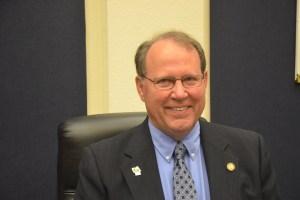 County Commission Chairman Greg Hansen. (© FlaglerLive)