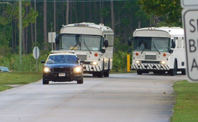 Paving the way for the recidivism bus route. (Florida prisons)