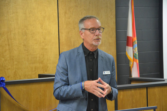 Superintendent Jim Tager